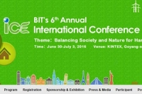 BIT's 6th Annual International Conference of Environment-2016 (ICE-2016)