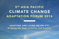 5th Asia Pacific Climate Change Adaptation Forum 2016