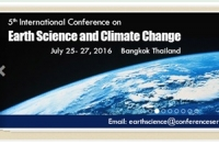 Conference on Earth Science & Climate Change