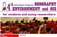 4th International Conference Geography, Environment and GIS