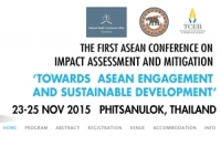 The First ASEAN Conference on Impact Assessment and Mitigation