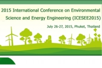 Environmental Science and Energy Engineering (ICESEE2015)