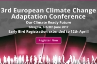 3rd European Climate Change Adaptation Conference Our Climate Ready Future