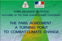 Outcomes of the Paris Climate Change Conference