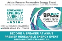 Asia's Premier Renewable Energy Event