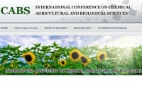 ternational Conference on Chemical, Agricultural and Biological Sciences