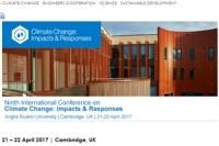 International Conference on Climate Change: Impacts & Responses