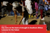 Day Zero on the back of drought in Southern Africa