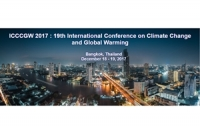 19th International Conference on Climate Change and Global Warming