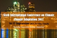Sixth International Conference on Climate Change Adaptation 2017