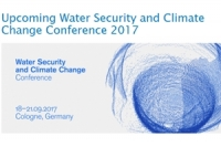 Upcoming Water Security and Climate Change Conference 2017