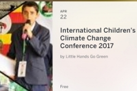 International Children's Climate Change Conference 2017
