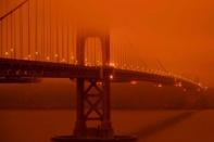 สัญญาณโลกวิบัติ ฟ้าสะพรึงอย่างกับดาวอังคาร สหรัฐฯเผชิญไฟป่าครั้งใหญ่