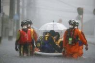 ญี่ปุ่น ออกคำเตือนฉุกเฉินพิเศษฝนตกหนัก 4 จังหวัด ทางภาคใต้