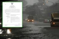 """กรมอุตุฯ ประกาศฉบับ 2 เตือนรับมือ พายุไต้ฝุ่น """"โมลาเบ"""" 28-30 ต.ค.นี้"""